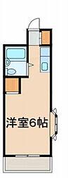 神奈川県横浜市神奈川区子安台2丁目の賃貸アパートの間取り