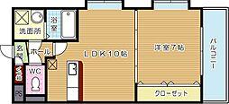 コスモス浅川学園台[7階]の間取り
