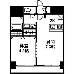 アーク菊水43[0803号室]の間取り