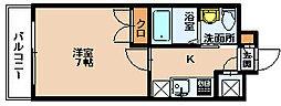 リファレンス下呉服町[5階]の間取り