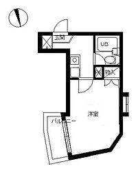 スカイコート戸田公園第4[5階]の間取り