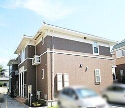 神奈川県茅ヶ崎市松浪2丁目の賃貸アパートの外観