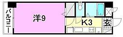 アマーレ中央[403 号室号室]の間取り
