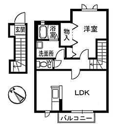 シャーメゾンY[2階]の外観