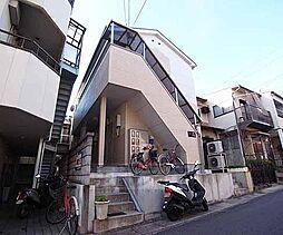 京都府京都市山科区上花山坂尻の賃貸アパートの外観
