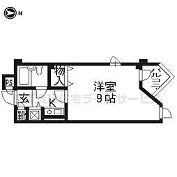 DETOM−1東山レディース102[1階]の間取り