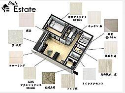 愛知県名古屋市名東区社台2丁目の賃貸アパートの外観