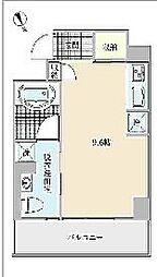 プロシード西天満[4階]の間取り