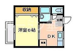ビュー舞子坂I[2階]の間取り