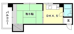 トキワハイツ[306 号室号室]の間取り