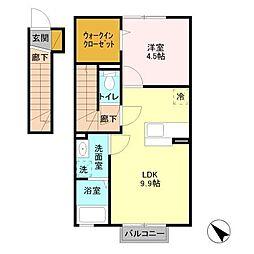 コスタ舟入[1階]の間取り
