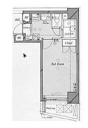 ロイヤルパレス初台[3階]の間取り