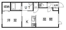Minaju(ミナージュ)[A号室]の間取り