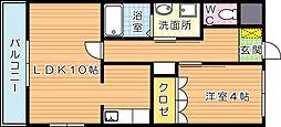 リリーガーデン[2階]の間取り