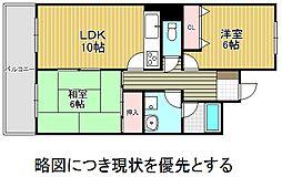 愛知県名古屋市千種区観月町1丁目の賃貸マンションの間取り