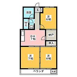 第2岐南ビル[3階]の間取り