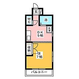 アメニティ浜松[1階]の間取り