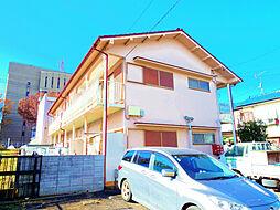 東京都小平市小川町2の賃貸アパートの外観