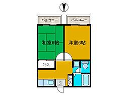 メゾン・プレジュール[2階]の間取り