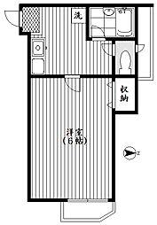 エコー東中野[301号室号室]の間取り