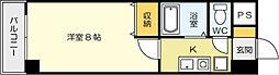 ニューライフ園田[305号室]の間取り