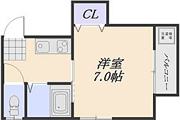 SKビル[3階]の間取り