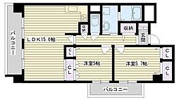 ソフィア鶴見[305号室]の間取り