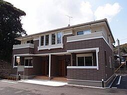 福岡県北九州市八幡西区大字本城の賃貸アパートの外観