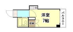 セクション22[2階]の間取り