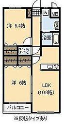アンシャンテ・I[305号室]の間取り