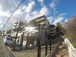 大阪府箕面市如意谷4丁目の賃貸マンションの外観