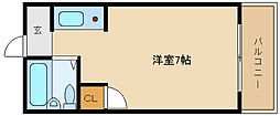 ブルーローズハウス[1階]の間取り