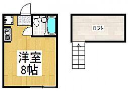 マリンパレス小平[2階]の間取り
