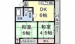ロイヤルマンション[203号室号室]の間取り