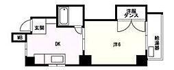 プリオール舞鶴[5階]の間取り