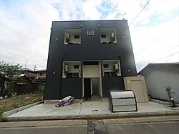 愛知県名古屋市中村区高道町3丁目の賃貸アパートの外観