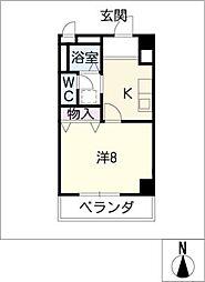 グレース小坂本町[6階]の間取り