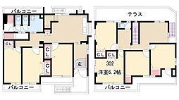 小幡シェアハウス[302号室]の間取り