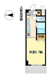 愛知県名古屋市昭和区安田通2丁目の賃貸マンションの間取り
