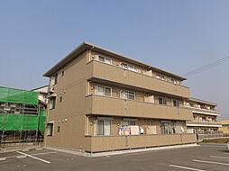 兵庫県三木市平田2丁目の賃貸アパートの外観