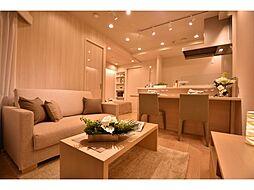 居間(リフォーム済み・エアコン設置済みのお部屋で初期費用を軽減します。)