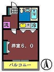 千葉県船橋市宮本1丁目の賃貸マンションの間取り