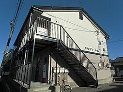 新潟県新潟市中央区紫竹1丁目の賃貸アパートの外観