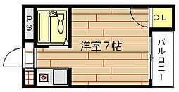 インペリアル江口A・B棟[3階]の間取り
