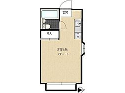 武蔵野ホームランドハイツ[1階]の間取り