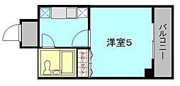 コトブキ[3階]の間取り