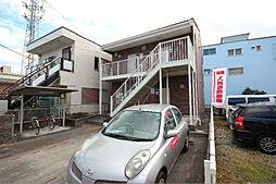 愛知県名古屋市中川区中郷4丁目の賃貸アパートの外観