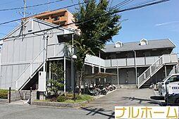 大阪府大阪市平野区長吉長原東3丁目の賃貸アパートの外観