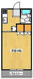 レジデンス峰[2階]の間取り