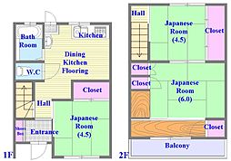 [一戸建] 兵庫県神戸市垂水区泉が丘5丁目 の賃貸【/】の間取り